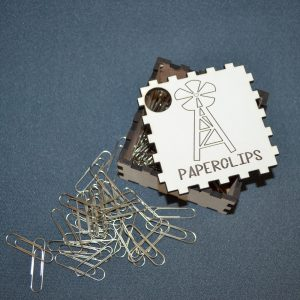 Paperclip boxes